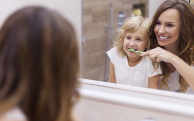 Tipos de cepillos de dientes para niños
